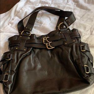 Kooba Black Leather Shoulder bag